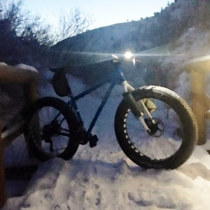 This Soma Sandworm rocked during an early morning mountain trail ride on January 9th!